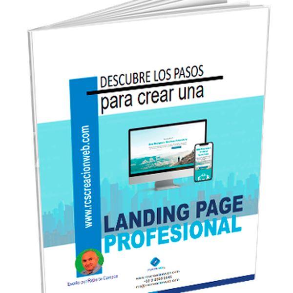 "Imagem principal do produto ""Cómo crear tu propia Landing Page Profesional"""