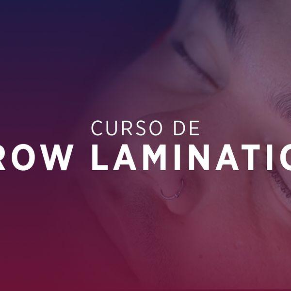 Imagem principal do produto Curso de Brow Lamination