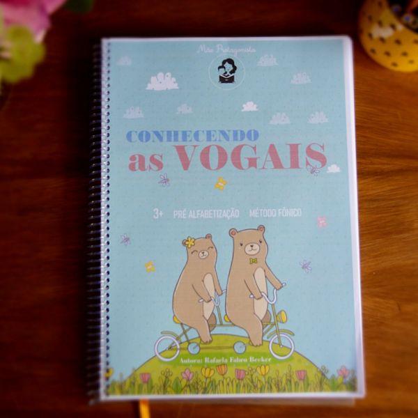 Imagem principal do produto Apostila Conhecendo As Vogais