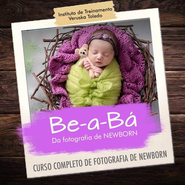 Imagem principal do produto  Be-a-Bá da Fotografia de Newborn