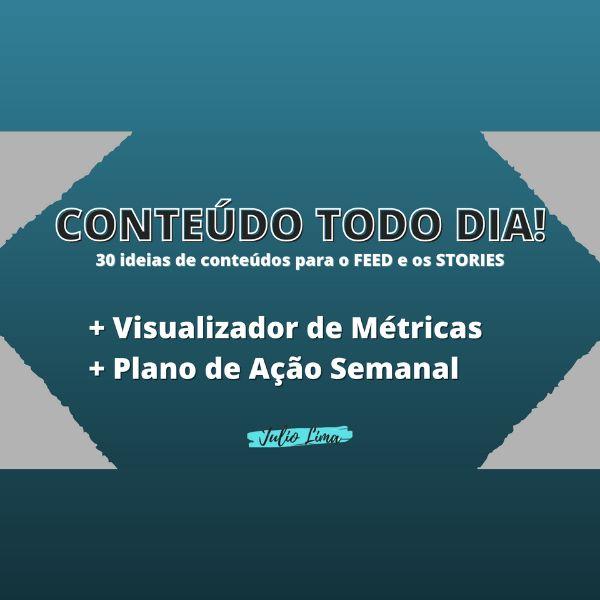 Imagem principal do produto Conteúdo Todo Dia! + Visualizador de Métricas e Plano de Ação Semanal