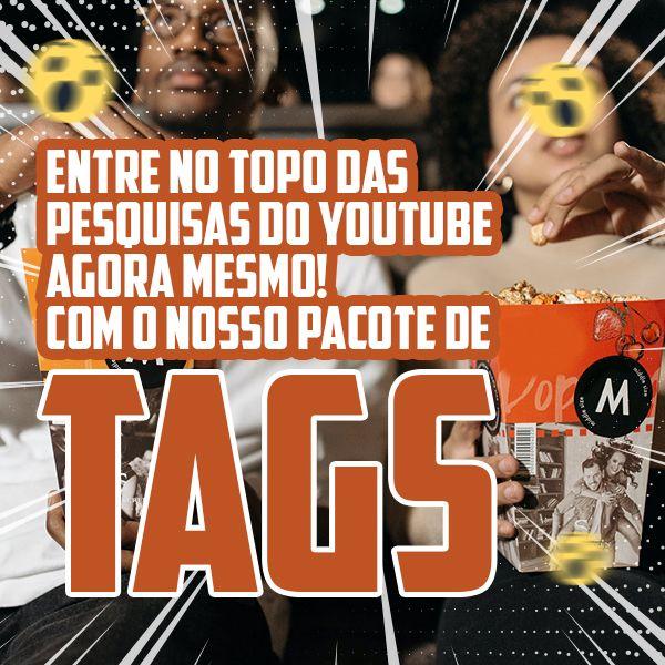 Imagem principal do produto Curso Tags para Youtube - Tema: Filmes e animação