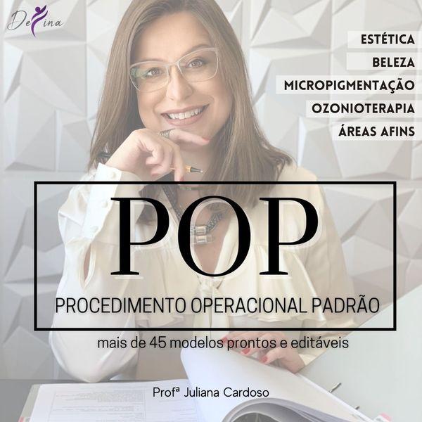 Imagem principal do produto POPs para Estética e Beleza (Procedimento Operacional Padrão)