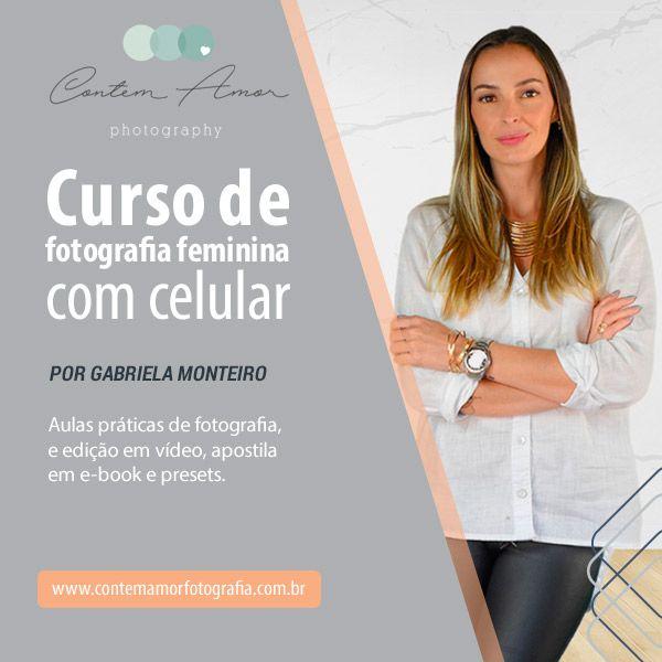 Imagem principal do produto Curso de Fotografia Feminina com Celular