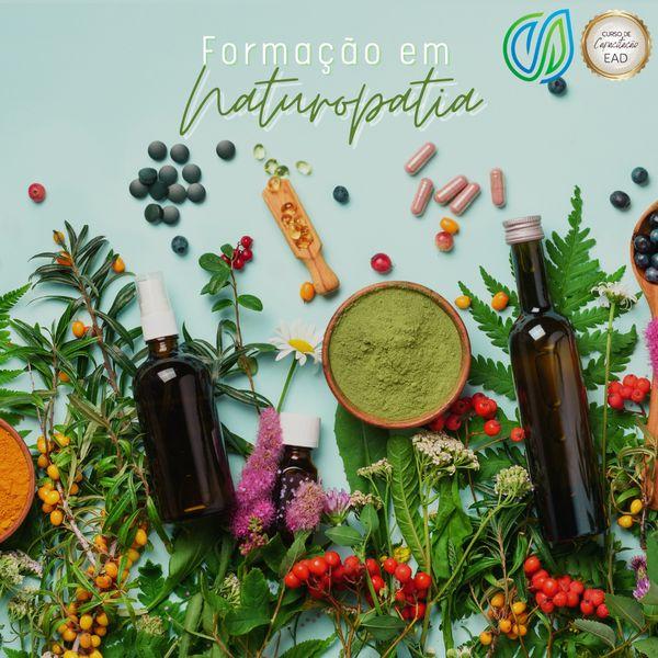 Imagem principal do produto Formação em Naturopatia (on-line) EAD - 24 meses