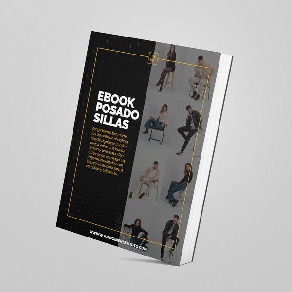 Imagem principal do produto Ebook // Guía +100 Ideas de poses para sesiones de fotos (Versión Sillas y Taburetes)