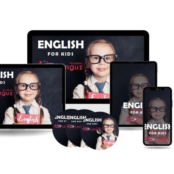 Imagem principal do produto English for Kids by Languz Academy