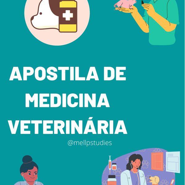 Imagem principal do produto Apostila Medicina Veterinária