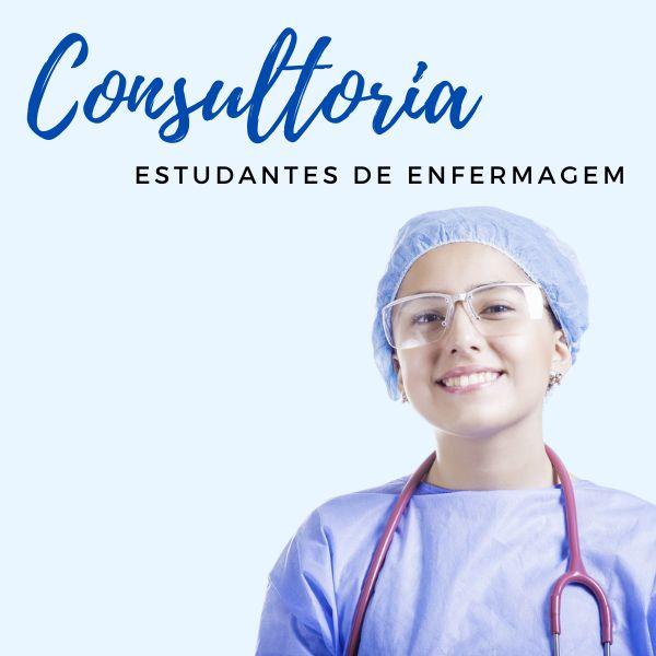 Imagem principal do produto Consultoria para Estudantes de Enfermagem + Caderno de Estagio