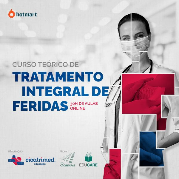 Imagem principal do produto Estratégias de tratamento de feridas - Nathália Alvarenga Martins