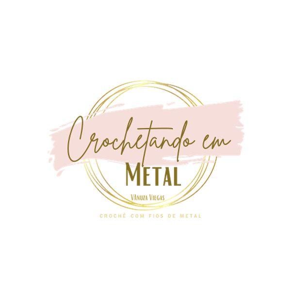 Imagem principal do produto CROCHETANDO EM METAL - VANUZA VIEGAS