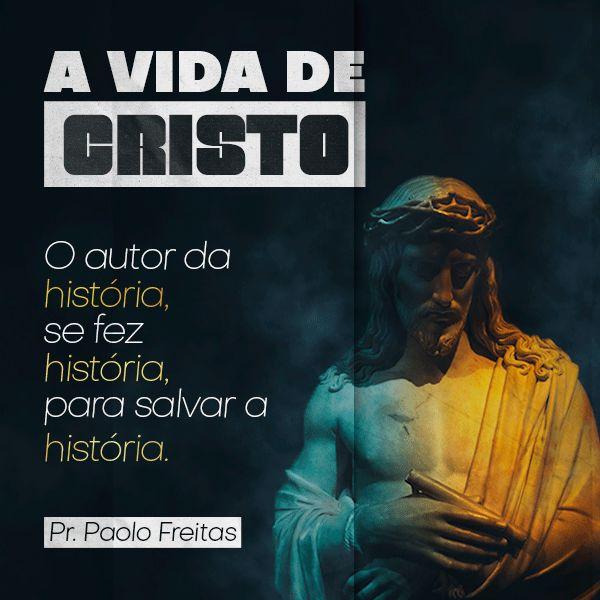 Imagem principal do produto A Vida de Cristo - Um guia completo sobre a vida e obra do Mestre Jesus