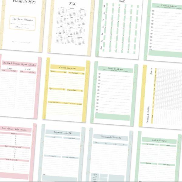 Imagem principal do produto Diagramação 3.0 para Cadernos, Agendas e Planners