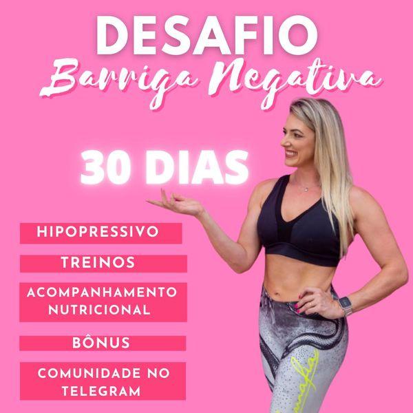 Imagem principal do produto Desafio 30 dias Barriga Negativa