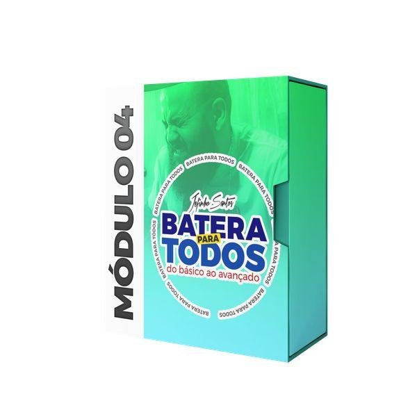 Imagem principal do produto BATERIA PARA TODOS - MÓDULO 04 - JEFINHO SANTOS