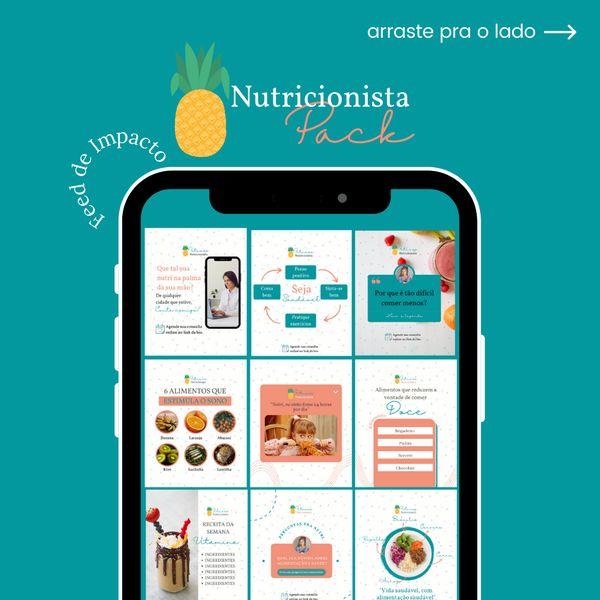 Imagem principal do produto FEED DE IMPACTO - Nutricionista