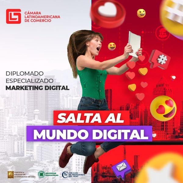 Imagem principal do produto DIPLOMADO ESPECIALIZADO EN MARKETING DIGITAL
