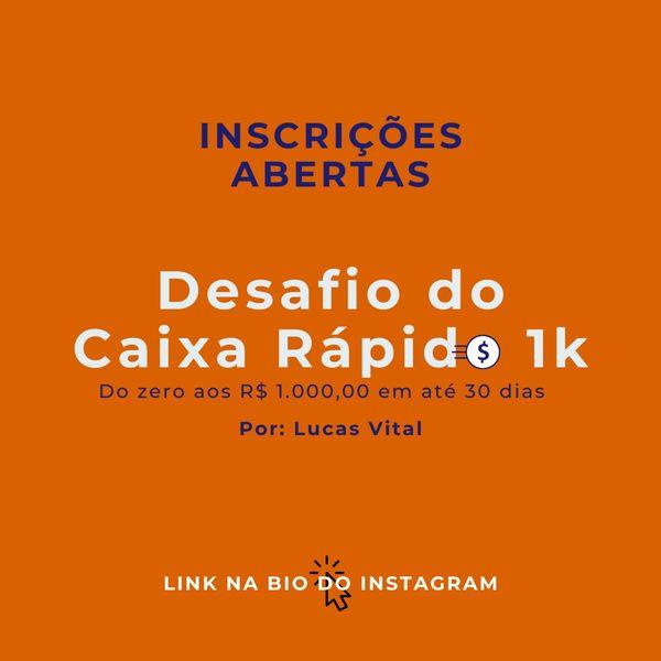 Imagem principal do produto Desafio do Caixa Rápido - DCR1k