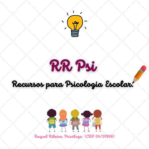 Imagem principal do produto RR Psi - Recursos para Psicologia Escolar
