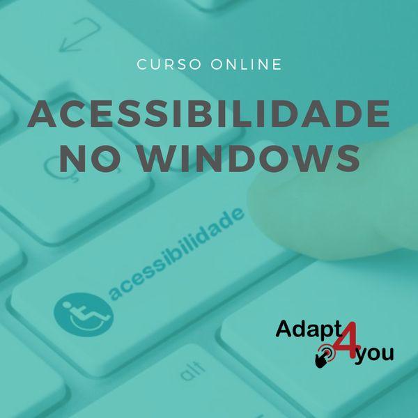 Imagem principal do produto Acessibilidade no Windows