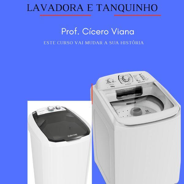 Imagem principal do produto Curso Profissionalizante em Lavadora e Tanquinho