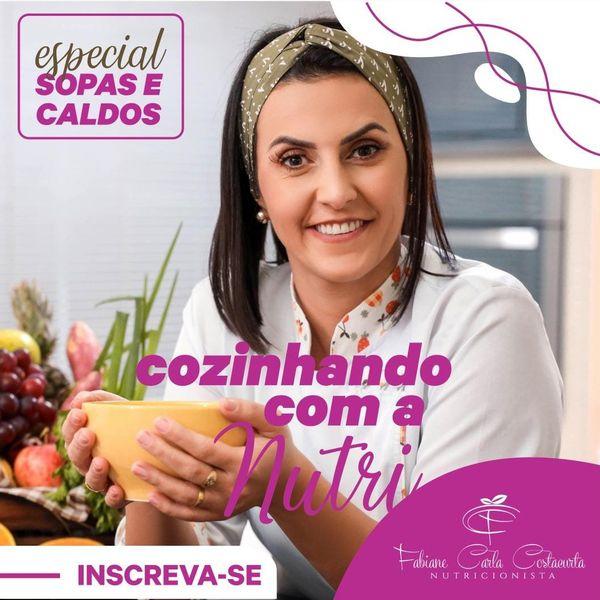 Imagem principal do produto Cozinhando com a Nutri