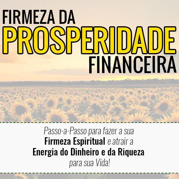 Imagem principal do produto Firmeza da Prosperidade Financeira