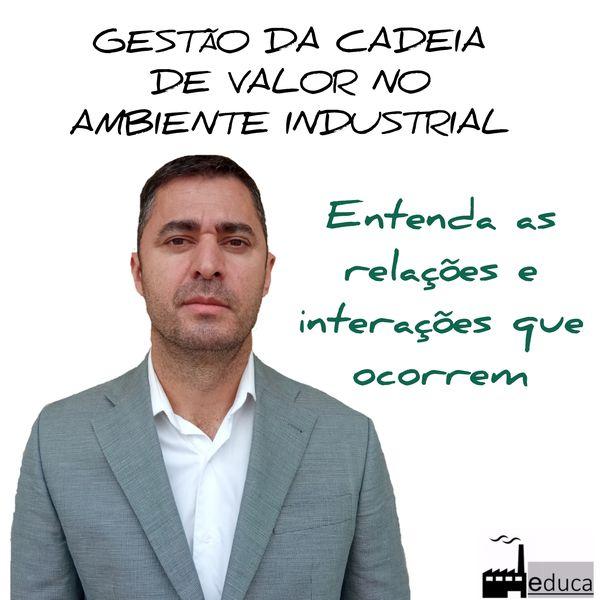 Imagem principal do produto GESTÃO DA CADEIA DE VALOR NO AMBIENTE INDUSTRIAL