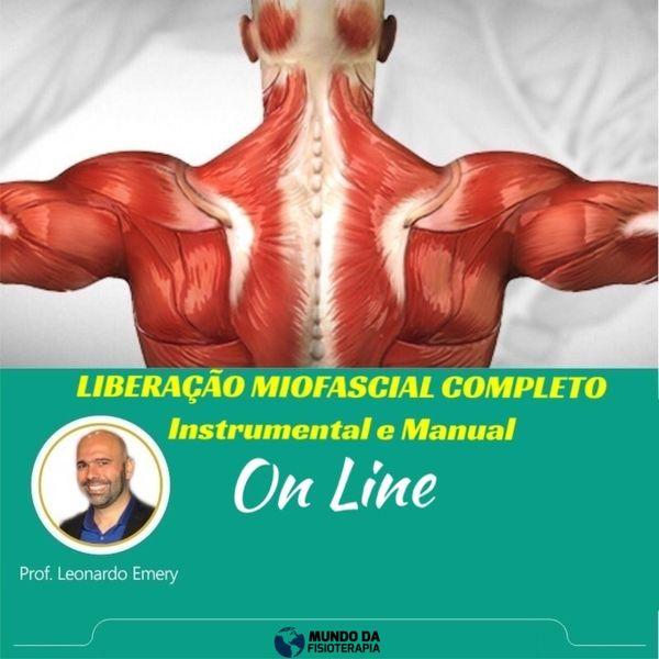 Imagem principal do produto Liberação Miofascial Completo - Instrumental e Manual