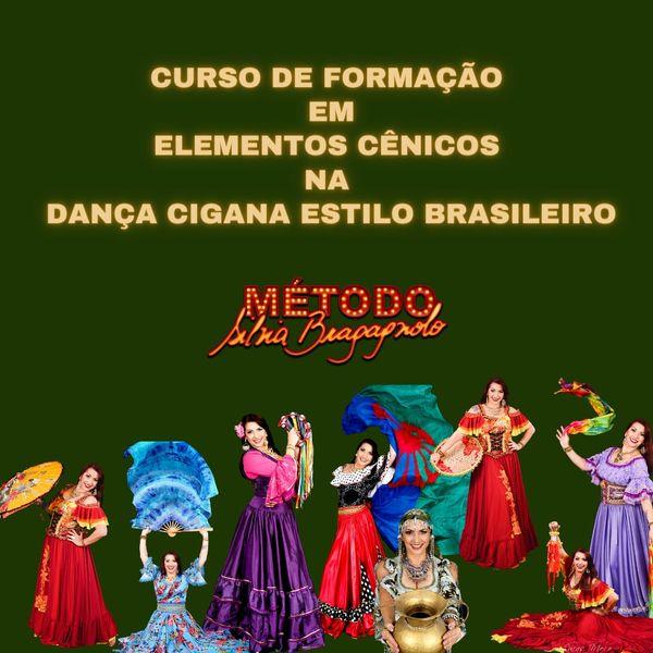 Imagem principal do produto CURSO DE FORMAÇÃO EM ELEMENTOS CÊNICOS na DANÇA CIGANA ESTILO BRASILEIRO