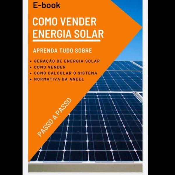 Imagem principal do produto COMO VENDER ENERGIA SOLAR
