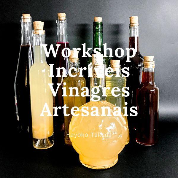 Imagem principal do produto Curso Incríveis Vinagres Artesanais