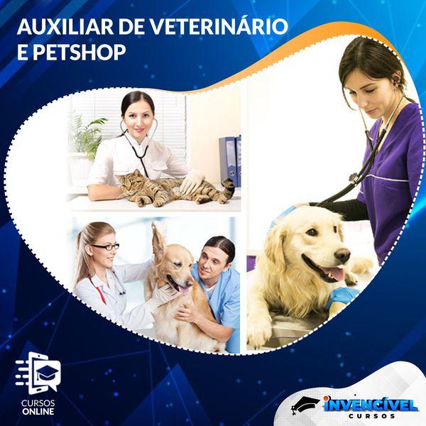 Imagem principal do produto AUXILIAR DE VETERINÁRIO E PETSHOP