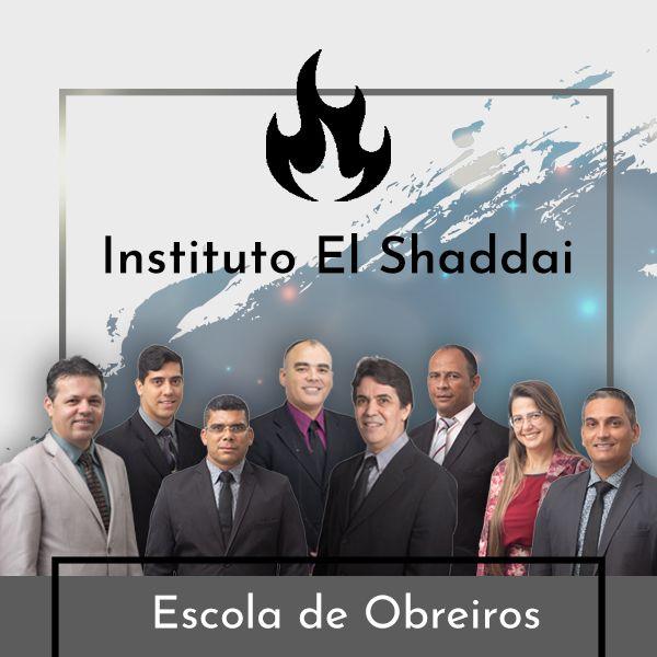 Imagem principal do produto ESCOLA DE OBREIROS | INSTITUTO EL SHADDAI