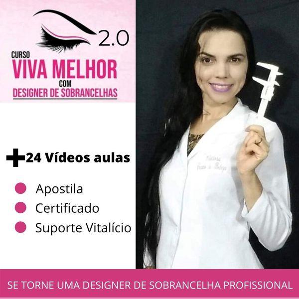 Imagem principal do produto Curso Viva Melhor com Designer de sobrancelhas 2.0