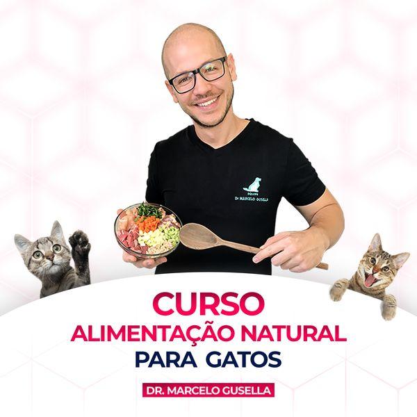 Imagem principal do produto Alimentação Natural para Gatos