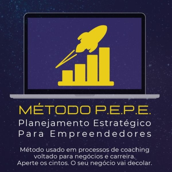 Imagem principal do produto eBook: Método P.E.P.E. - Planejamento Estratégico Para Empreendedores