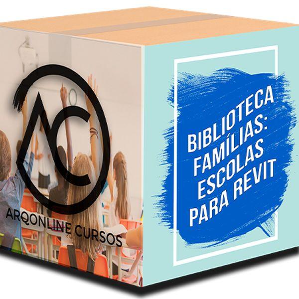 Imagem principal do produto Biblioteca Famílias Revit - Escolas