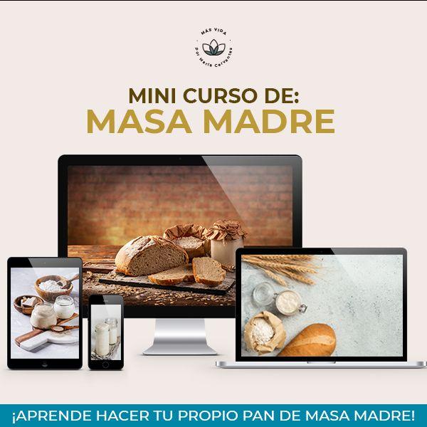 Imagem principal do produto Mini Curso de Masa Madre
