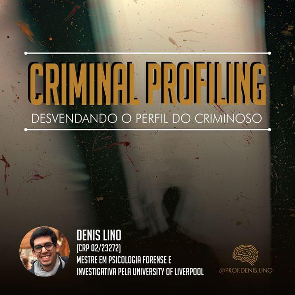 Imagem principal do produto Curso de Criminal Profiling: Desvendando o perfil criminoso