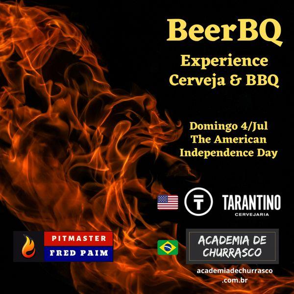 Imagem principal do produto BeerBQ Workshop de Cerveja e Barbecue (Academia de Churrasco + Tarantino)