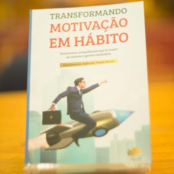 """Imagem principal do produto E-book: """"Transformando Motivação em Hábito"""""""
