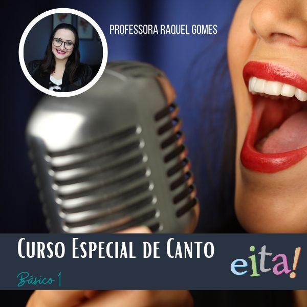 Imagem principal do produto CURSO DE CANTO BÁSICO 1 - PROF RAQUEL GOMES