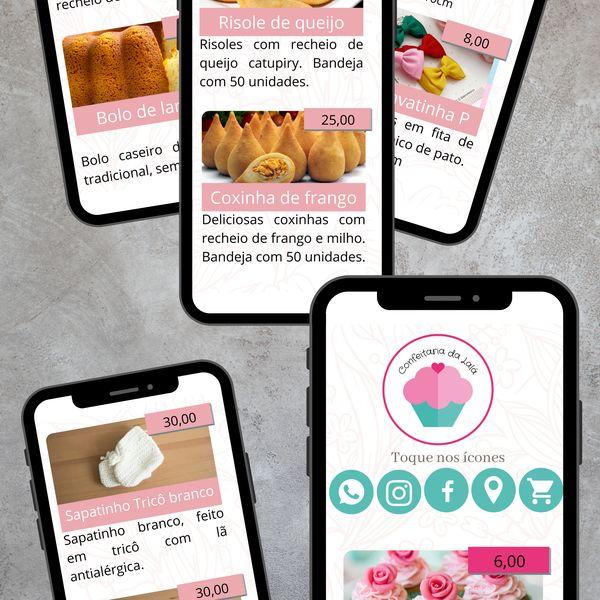 Imagem principal do produto Catálogo Digital para Negócios