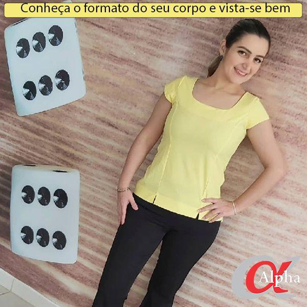 Imagem principal do produto Conheça o formato do seu corpo e vista-se bem.