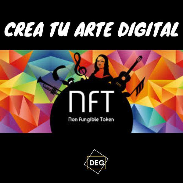 Imagem principal do produto Crea Tu Arte Digital NFT ( cripto-art)