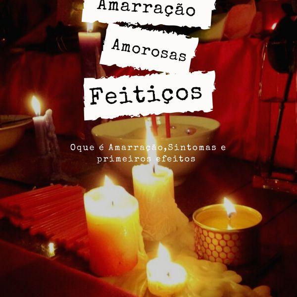 Imagem principal do produto AMARRAÇÃO AMOROSA  SINTOMAS E PRIMEIROS EFEITOS
