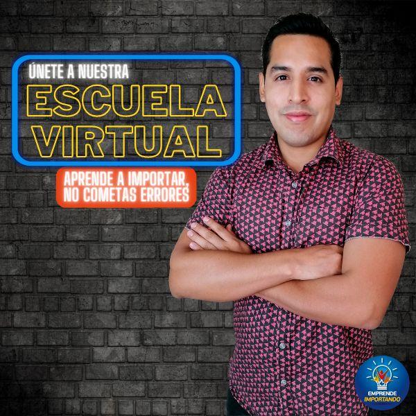 Imagem principal do produto Escuela Virtual de Importadores