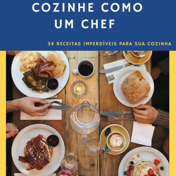 Imagem principal do produto COZINHE COMO UM CHEF