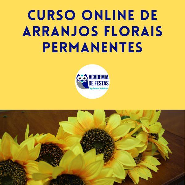 Imagem principal do produto Arranjos Florais Permanentes